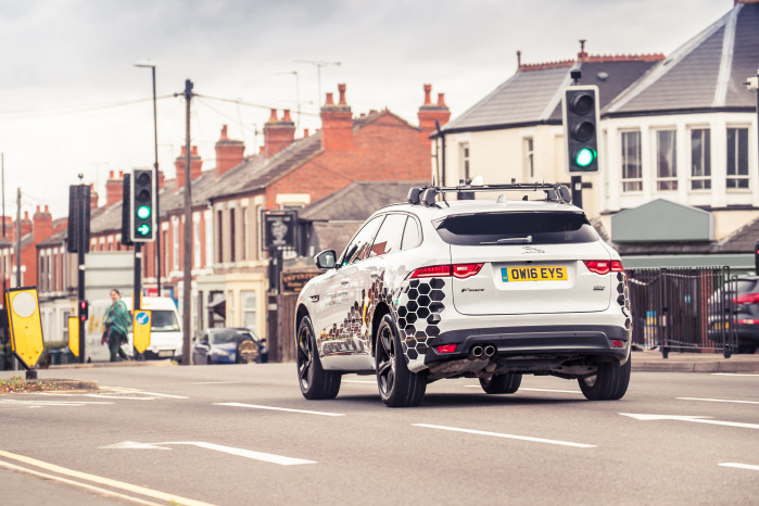 Jaguar Land Rover looks to skip the red light